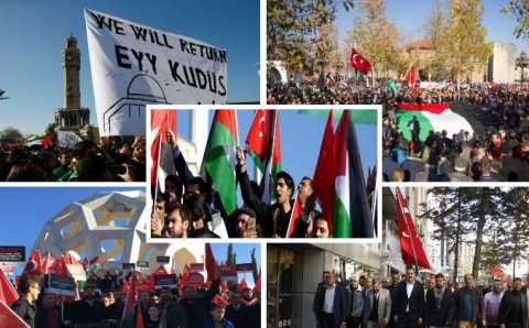 По Турции прокатилась волна антиизраильских протестов