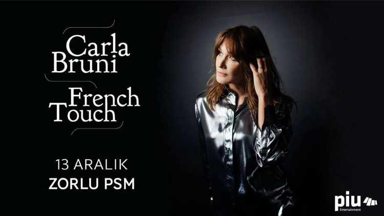 Первая леди Франции Карла Бруни даст концерт в Стамбуле