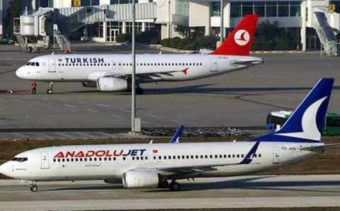 Anadolujet начинает внутренние перелеты с 4 июня