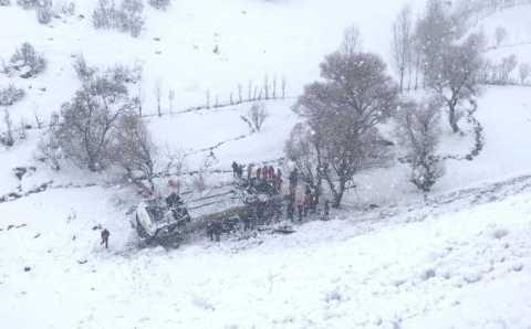 ДТП с участием автобуса: 6 погибших, 24 пострадавших