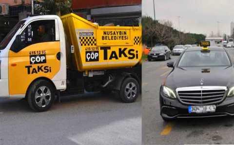 Два необычных турецких такси: от мусора до люкса