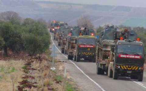 Турция перебрасывает танки на границу с Грецией?