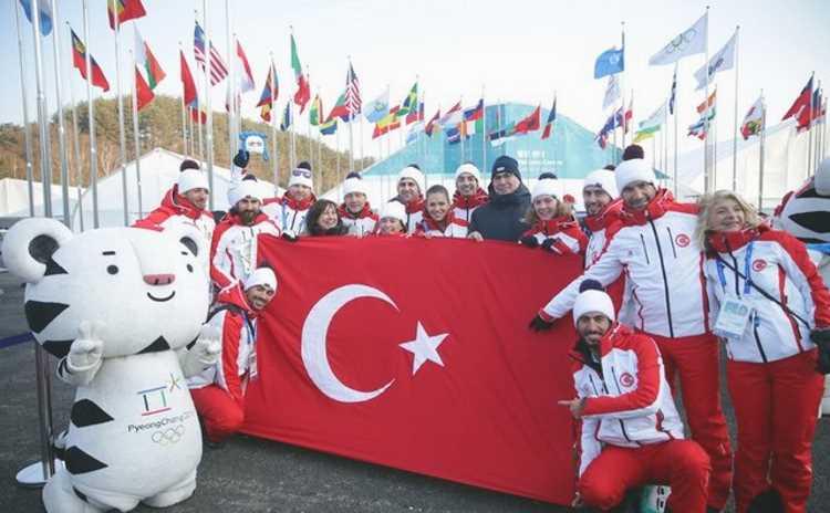 Турция отправила 8 спортсменов на зимнюю Олимпиаду-2018