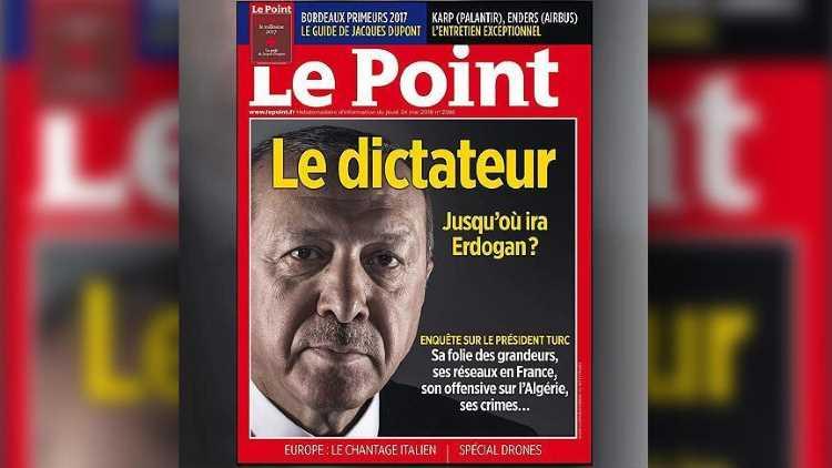 Анкара осудила французский журнал за обложку