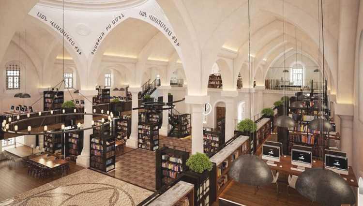 Церковь в Кайсери станет общественной библиотекой