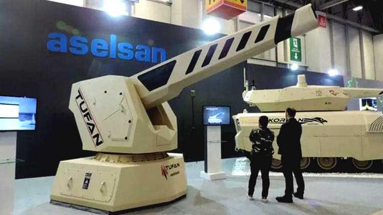 ASELSAN и TUSAŞ вошли в ТОП-100 производителей оружия