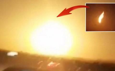 Турция активно обсуждает падение метеорита