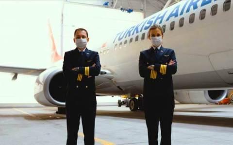 Turkish Airlines запретили использовать маски с клапаном