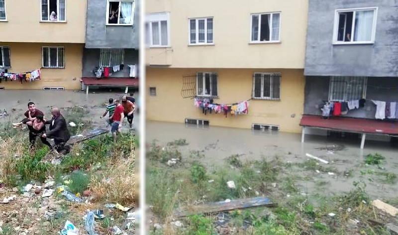 Трое детей спасены из затопленной квартиры