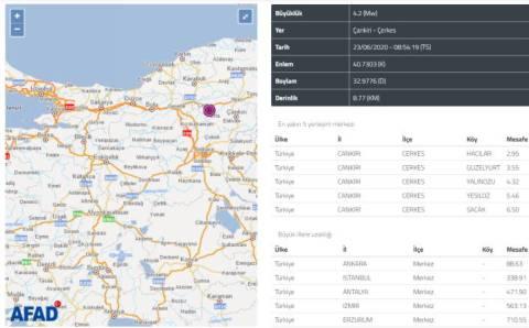 Анкара почувствовала землетрясение 4,2 балла