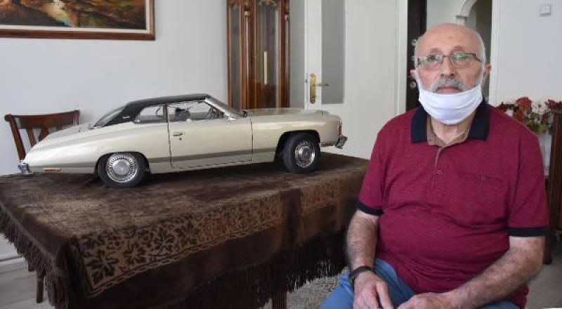 Житель Сиваса 36 лет собирал модель авто