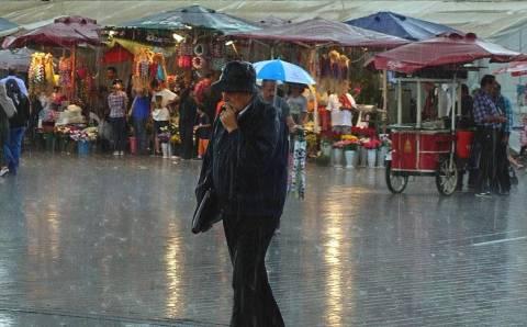 Ливни пройдут на большей части территории Турции