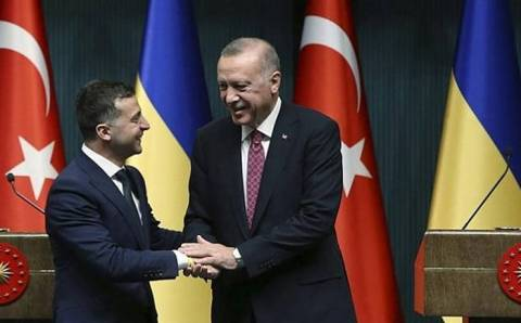 Эрдоган и Зеленский обменялись «теплыми твитами»