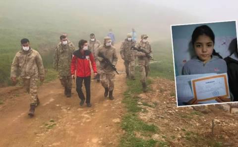 11-летняя Элиф нашлась спустя 33 часа поисков