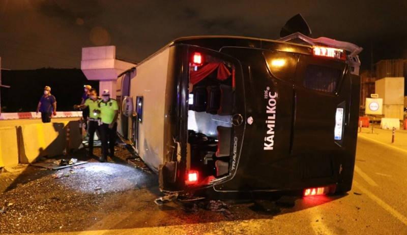 Автобус не доехал до курорта: 1 погибший, 16 раненых