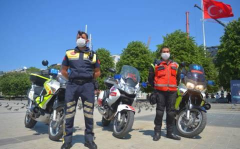 На улицах Турции появятся мотобригады скорой помощи