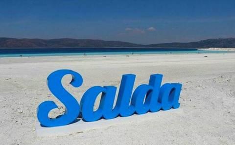 Озеро Салда частично закрывается для посещения