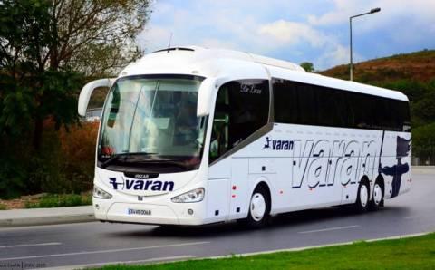 Автобусы компании Varan возвращаются на дороги Турции