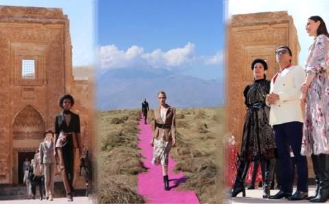 Красота востока Турции в новом показе мод