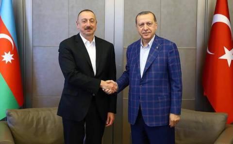 Эрдоган провел телефонный разговор с Алиевым