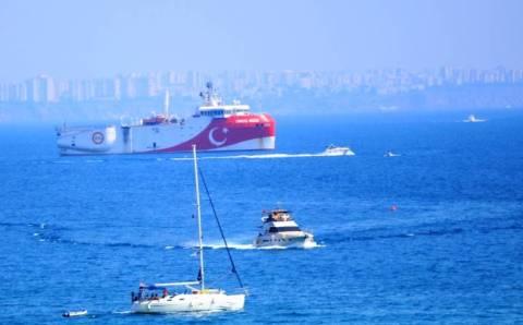 Oruç Reis снова в центре проблемы Средиземноморья