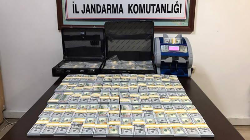 Жандармы изъяли 1,8 млн высококачественных долларов