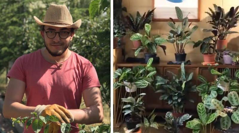 Турок снял свои растения и удивил многих