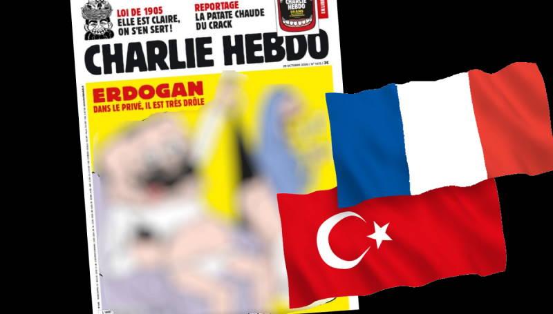 Карикатура на Эрдогана вызвала международный скандал
