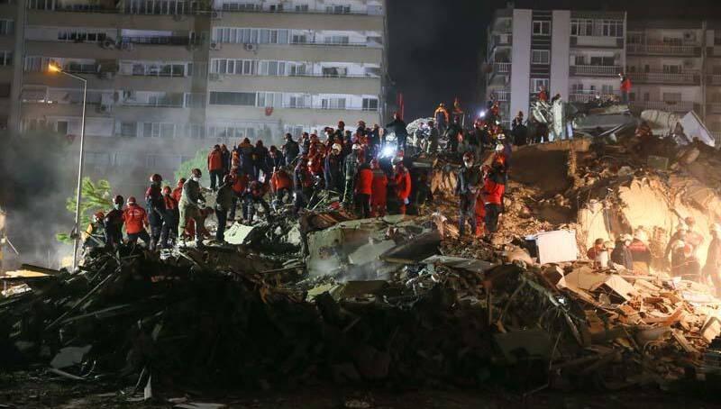 Поисково-спасательные работы в Измире завершены