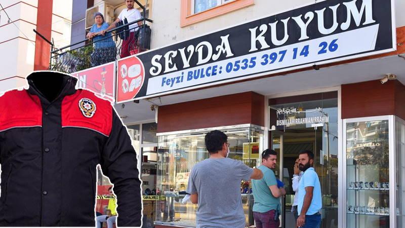 «Полицейский» ограбил ювелирный магазин в Анталии