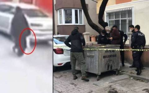Страшная находка возле мусорки в Стамбуле