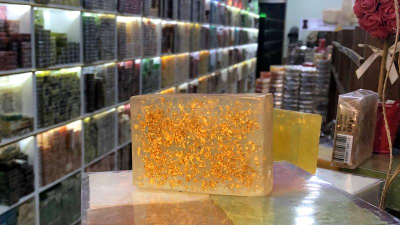400 лир за кусочек «золотого» мыла