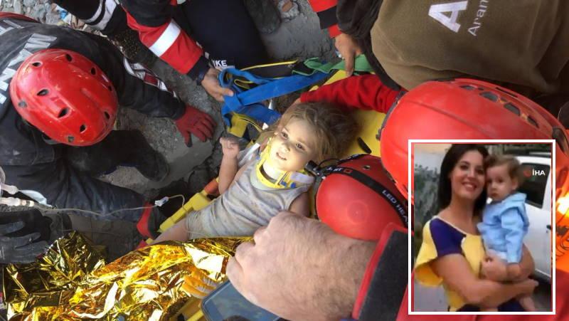 4-летняя Айла провела 91 час под завалами