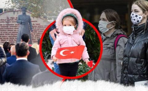 Турция замерла в память об Ататюрке