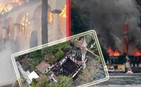 Сгоревшая мечеть в Стамбуле будет восстановлена
