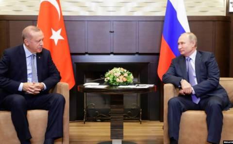Эрдоган обсудил с Путиным Сирию, Карабах и Спутник V