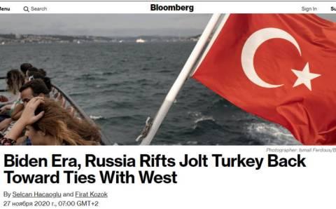 Эра Байдена и размолвки с Россией толкают Турцию к укреплению связей с Западом