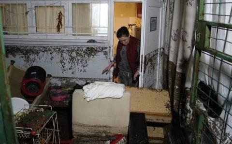 Гражданку Грузии пришлось спасать через окно