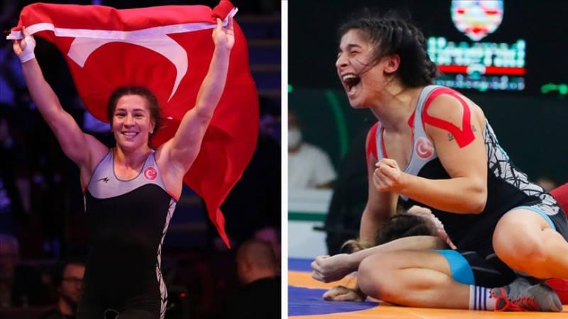 Две медали в Кубке мира по женской борьбе