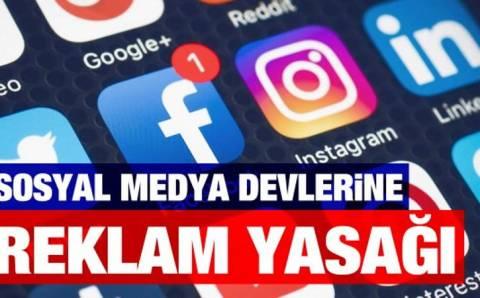 В Турции 6 соцсетей останутся без рекламы