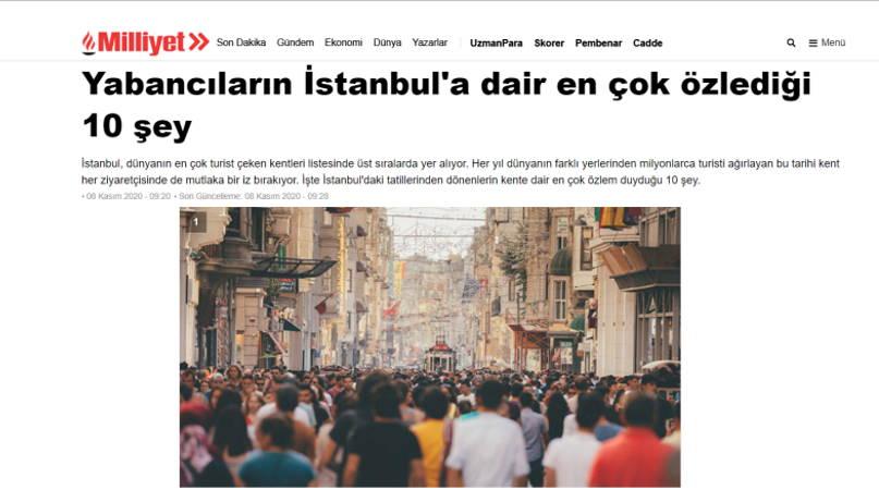 10 вещей Стамбула, по которым иностранцы скучают больше всего