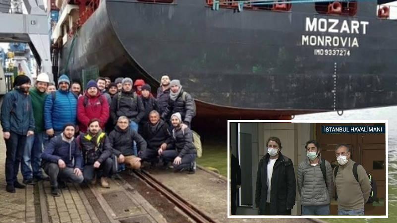 15 похищенных моряков вернутся в Турцию