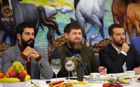 Съёмочная группа «Основание: Осман» посетила Чечню