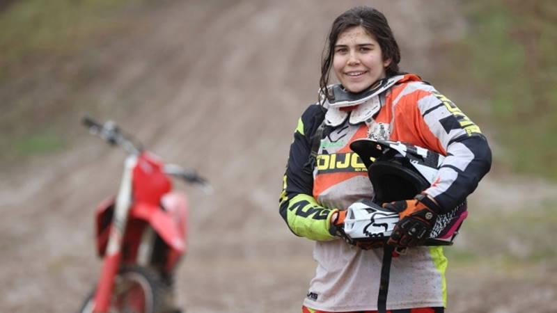 16-летняя Ирмак – надежда турецкого мотоспорта