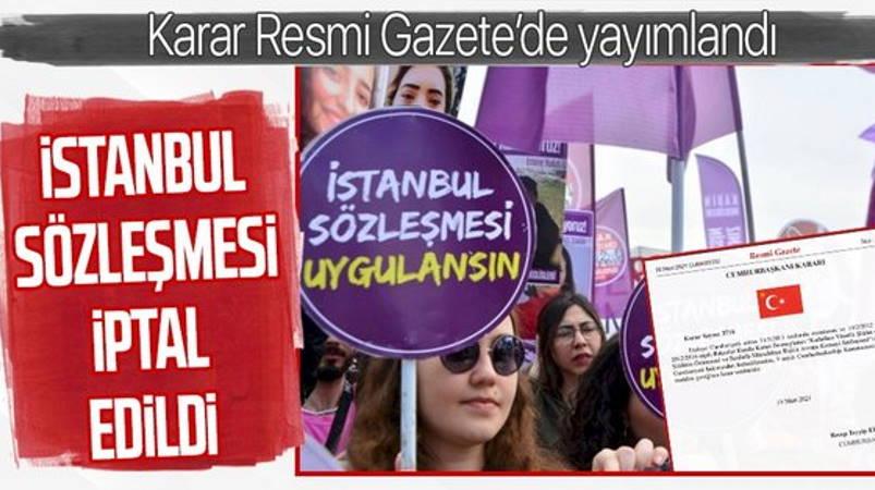 Турция вышла из Стамбульской конвенции