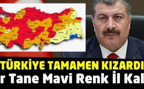 Анкара, Измир и Анталья перешли в красную зону