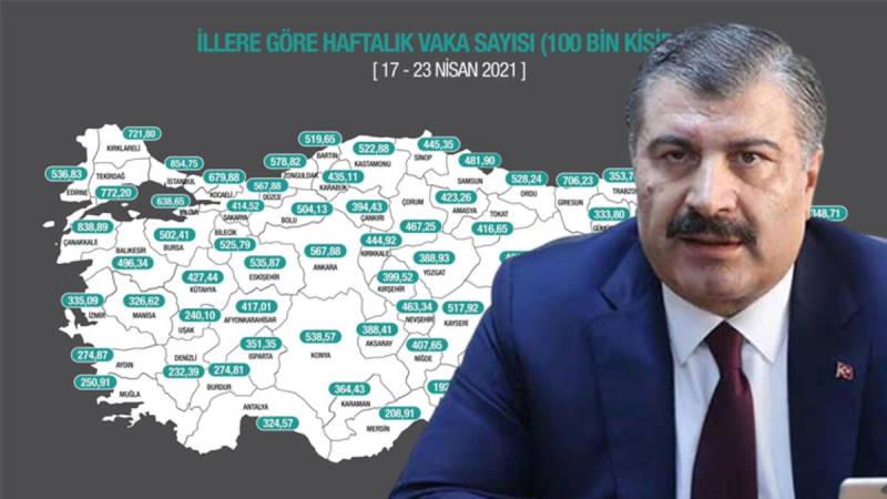 В Турции осталось две оранжевых провинции