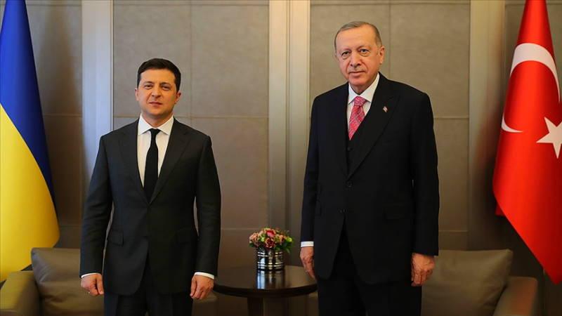 В Стамбуле прошла встреча президентов Турции и Украины
