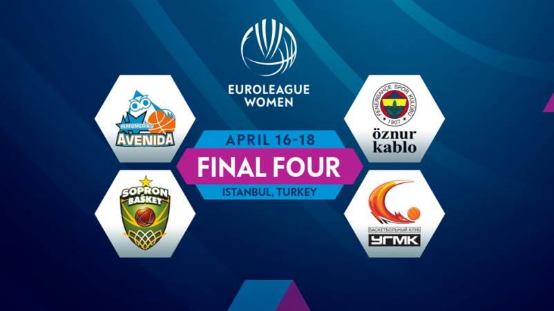 Стамбул примет «Финал четырех» женской Евролиги