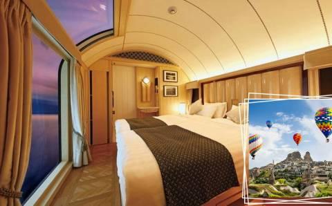 «Экспресс Каппадокия»: Люкс-поезд для туристов